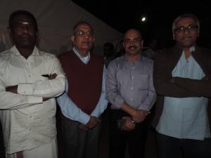 L to R Soma Sundaram, Umesh Ramakrishnan, Srinivas V L, Nagesh Karuturi