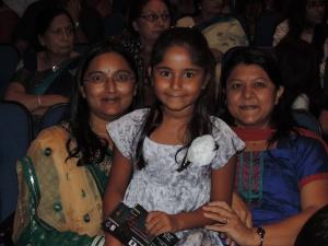 L to R Sonal Shah, Diva Shah, Varsha Parekh