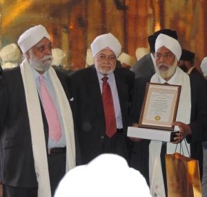 L to R Swarn Singh Gharial, Harbans Amrit, Chetan Singh Devgun