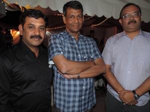 L to R Thanu Murthi, Sahas Iyer, Sanjeev Sukumaram
