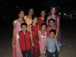 L to R (Top) Bhunija Srungarapu, Ashmita Suresh, Nandita Srinivasan, Neha Dukkipati, (Bottom) Achyuta Reddy, Shravya Vadrevu, Purvaja Shajansunder, Varun Kanakala, Sneha Kanakala