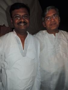 L to R Veerasamy Balakrishnan, Srinivasrangan Ramani