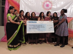 Leisure Rondwe Jalaram Girls School, Mombasa receives donation from Lohana Ladies Circle