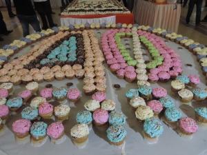 SGRR Nairobi 40th Anniversary Cup Cakes