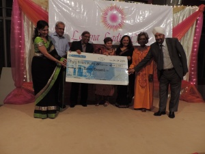 The Flying Doctors Society of Africa receives donation from Lohana Ladies Circle