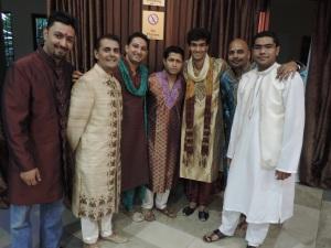 L to R Anoop Aggarwal, Mehul Malde, Samrath Shah, Mitesh Chavda, Anubhav Garg, Pratik Jani, Sudarshan Bellur