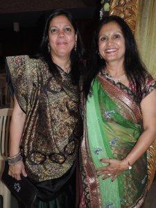 L to R Chetna Pathak, Shilpa Patel
