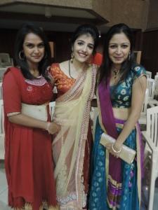 L to R Heena Haria, Neera Chokshi, Nejal Sonigra