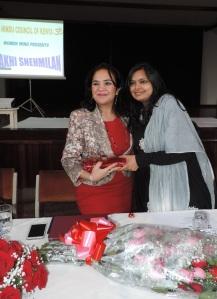 L to R Hon Sunjeev Kaur Birdi MP, Sangeeta Malde