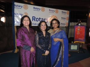 L to R Mrs Kapila, Hon. Sonia Birdi, MP, Geeta Manek