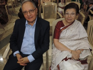 L to R Rasik Kantaria, Usha Kantaria