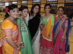 L to R Shivani Vishram, Amrita Vishram, Sapna Pavani, Pallavi Vishram, Smruti Gorsia