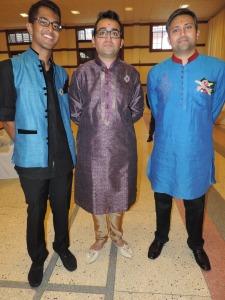 L to R Tejas Gorsia, Rohit Kanji, Ketan Patel