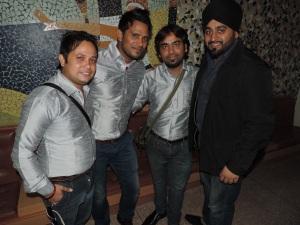 L to R Vinay Kumar, Subash Kumar, Manoj Kumar, Arvinder Mudher