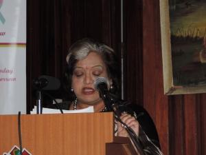 Mrs Rekha Kochhar Director Hindu Council of Kenya Women's Wing