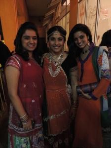 L to R Chandni Ganatra, Bindiya Sanghani, Radhika Raithata