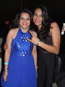 L to R Feena Shah, Kinjal Patel