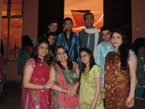 L to R Hardik Modi, Jai Nathwani, Preet Radia, Kishen Raitatha, (Bottom) Chandni Ganatra, Nirma Kochar, Rupa Kanani, Kushboo Ruparel, Roma Vasani