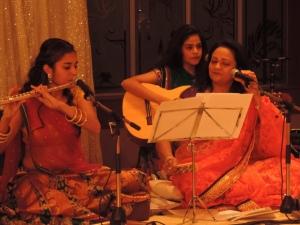 L to R Karishma Kassam, Anuskha Kassam, Bhavna Kassam