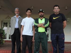 L to R Nadeem Abdulla, Sohail Nadeem, Shiraz Ali, Qaiser Karim