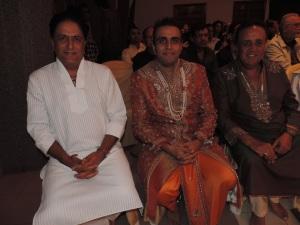 L to R Vijay Mojaria, Premal Sanghani, Ashok Sanghani