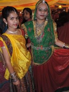 L to R Mahek Shah, Mili Shah