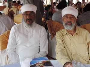 L to R Narinder Roopra, Satvinder Syan