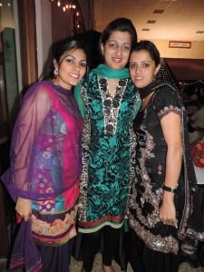 L to R Neena Lotay, Harpreet Kaur
