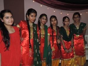L to R Simarjot Sandhu, Jaspreet Matharu, Samrita Gill, Gurpreet Kalsi, Parveen Kaur, Manmeet Matharu