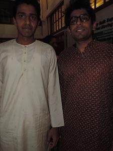 L to R Viken Patel, Jay Hirani