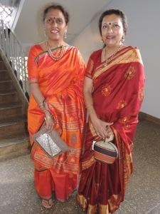 L to R Vina Kavya, Priti Shah