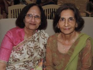 L to R Yashu Patel, Yasmin Molade