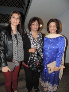 L to R Yasmin Dhanji, Shelina Manji, Dilshad Manji