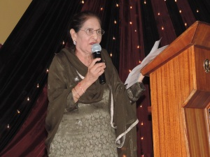Mrs Kartar Kaur Chadha recites a Poem in Punjabi