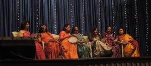 Oshwal Mahila Mandal sing a song