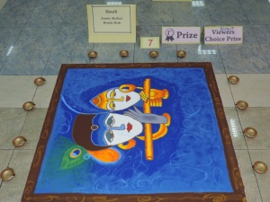 Winner of Rangoli- Brinda Shah and Asmita Akabari