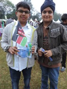 L to R Cheyenne Hanspal, Jaypal Sembhi