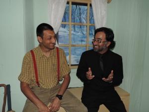 L to R Director Amar Desai & Aperture Africa's Feisal Malik