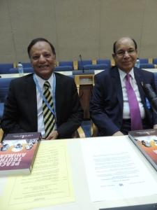 L to R H.E. Mr Rafiuzzaman Siddiqui, Ravi D Prinja