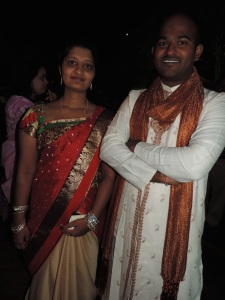 L to R Mrs Sumitha Simha, Mr P N Simha