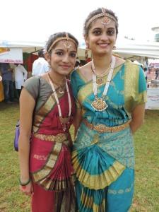 L to R Nikita Nakar, Varsha Jajala