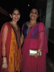 L to R Sadhana Parwar, Kalpana Vara