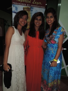 L to R Anisa Kapacee, Ashiya Kapacee, Aahfa Kapacee