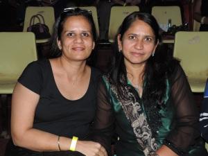 L to R Anju Patel, Bhavna Patel