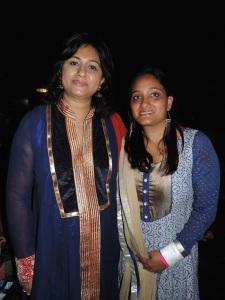 L to R Aradhana Trivedi, Krishana Vyas