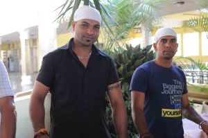 L to R Gurdeep Ubhi, Dheer Singh