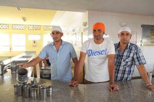 L to R Gurvinder Singh, Karandeep Singh, Heera Singh