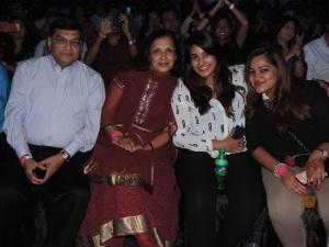 L to R Jatin Shah (Tribe Hotel), Anna Shah, Soyum Shah, Anaita Shah