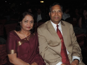 L to R Mrs Alka Varma, H.E. High Commissioner of India to Kenya Mr Yogesh Varma