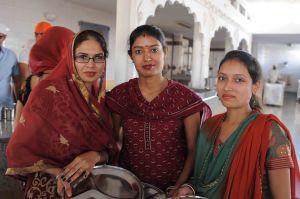 L to R Mrs Maninder Jandu, Mrs Rajdeep Ubhi, Mrs Mandeep Bharya